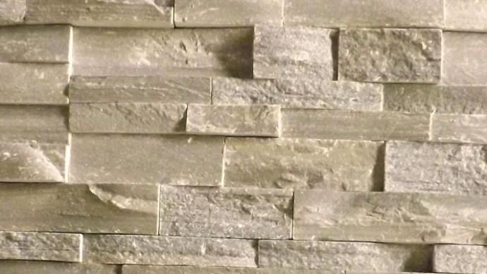 Permalink auf:Wandverblender Grau rau